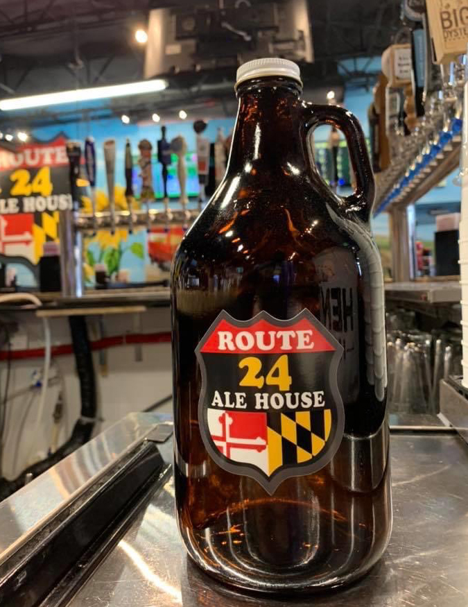 Growlers at Route 24 Ale House