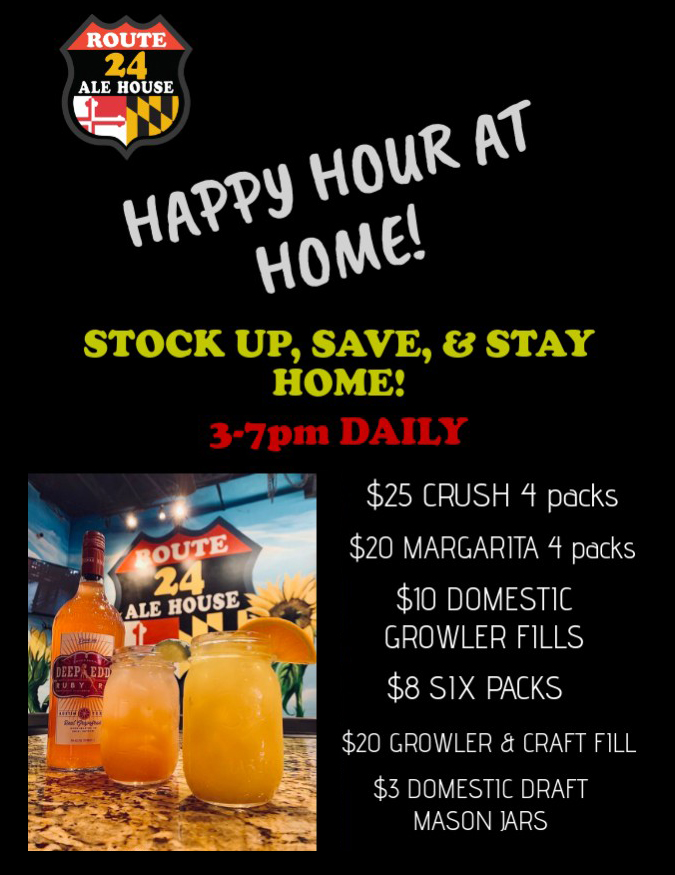 Happy Hour at Home with Route 24 Ale House