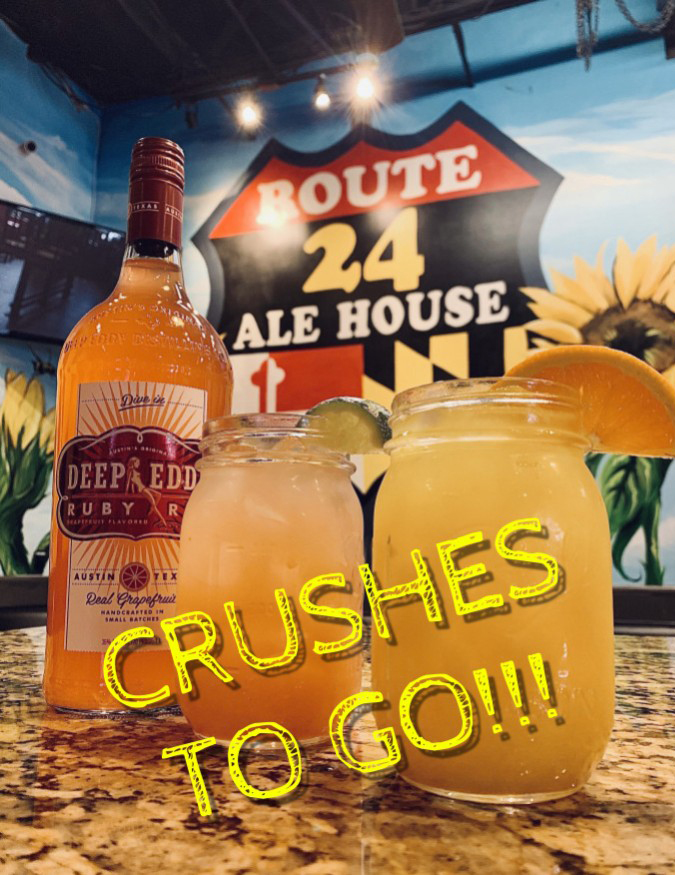 Yummy Crushes to Go from Route 24 Ale House