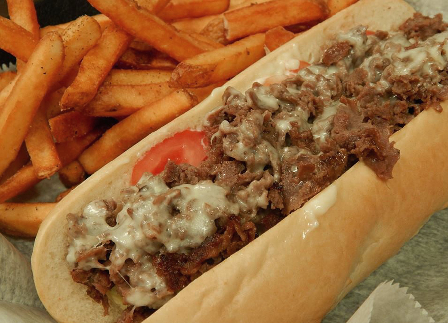 Philly Cheesesteaks at Route 24 Ale House
