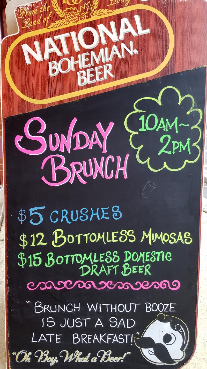 Route 24 Ale House Sunday Brunch